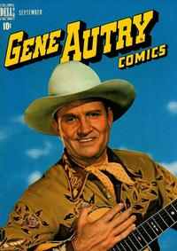 Cover Thumbnail for Gene Autry Comics (Dell, 1946 series) #19
