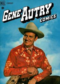 Cover Thumbnail for Gene Autry Comics (Dell, 1946 series) #24