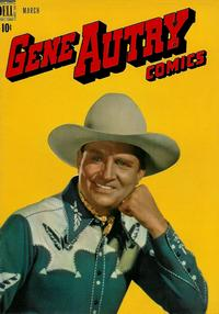 Cover Thumbnail for Gene Autry Comics (Dell, 1946 series) #25