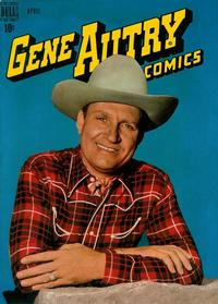 Cover Thumbnail for Gene Autry Comics (Dell, 1946 series) #26