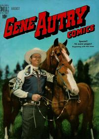 Cover Thumbnail for Gene Autry Comics (Dell, 1946 series) #30