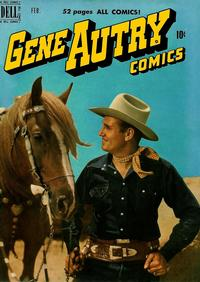 Cover Thumbnail for Gene Autry Comics (Dell, 1946 series) #36
