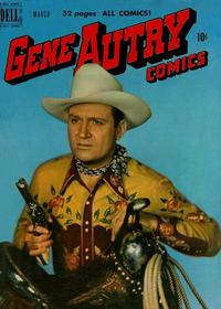 Cover Thumbnail for Gene Autry Comics (Dell, 1946 series) #37