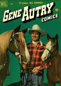 Cover Thumbnail for Gene Autry Comics (Dell, 1946 series) #40