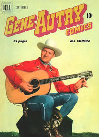 Cover Thumbnail for Gene Autry Comics (Dell, 1946 series) #43