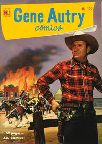 Cover Thumbnail for Gene Autry Comics (Dell, 1946 series) #47