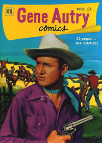 Cover Thumbnail for Gene Autry Comics (Dell, 1946 series) #49