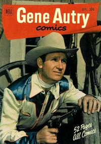 Cover Thumbnail for Gene Autry Comics (Dell, 1946 series) #55