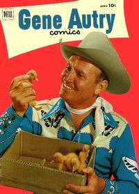 Cover Thumbnail for Gene Autry Comics (Dell, 1946 series) #62