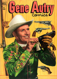 Cover Thumbnail for Gene Autry Comics (Dell, 1946 series) #63