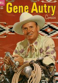 Cover Thumbnail for Gene Autry Comics (Dell, 1946 series) #64