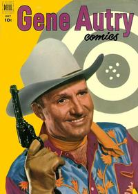 Cover Thumbnail for Gene Autry Comics (Dell, 1946 series) #65