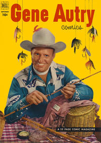 Cover Thumbnail for Gene Autry Comics (Dell, 1946 series) #67