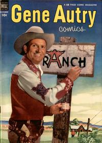 Cover Thumbnail for Gene Autry Comics (Dell, 1946 series) #69