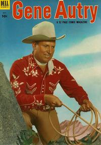 Cover Thumbnail for Gene Autry Comics (Dell, 1946 series) #75