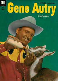 Cover Thumbnail for Gene Autry Comics (Dell, 1946 series) #77