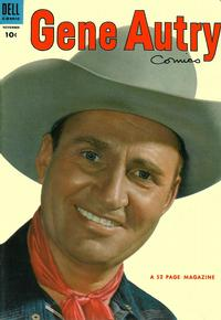 Cover Thumbnail for Gene Autry Comics (Dell, 1946 series) #81