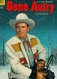 Cover for Gene Autry Comics (Dell, 1946 series) #83