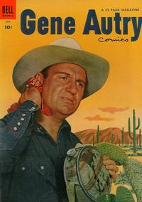 Cover for Gene Autry Comics (Dell, 1946 series) #89