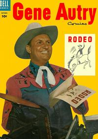 Cover Thumbnail for Gene Autry Comics (Dell, 1946 series) #92