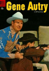 Cover Thumbnail for Gene Autry Comics (Dell, 1946 series) #98