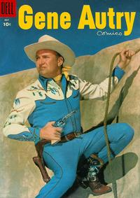 Cover Thumbnail for Gene Autry Comics (Dell, 1946 series) #101