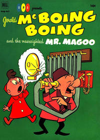 Cover Thumbnail for Gerald McBoing Boing and the Nearsighted Mr. Magoo (Dell, 1952 series) #1