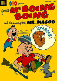 Cover Thumbnail for Gerald McBoing Boing and the Nearsighted Mr. Magoo (Dell, 1952 series) #3
