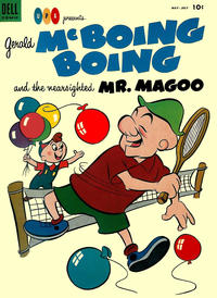 Cover Thumbnail for Gerald McBoing Boing and the Nearsighted Mr. Magoo (Dell, 1952 series) #4