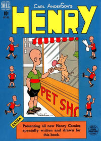 Cover Thumbnail for Henry (Dell, 1948 series) #4