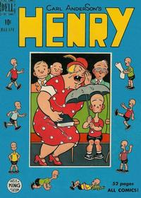 Cover Thumbnail for Henry (Dell, 1948 series) #12