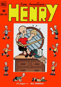 Cover Thumbnail for Henry (Dell, 1948 series) #18