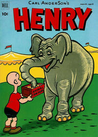 Cover Thumbnail for Henry (Dell, 1948 series) #24