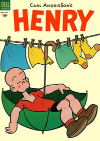 Cover Thumbnail for Henry (Dell, 1948 series) #33