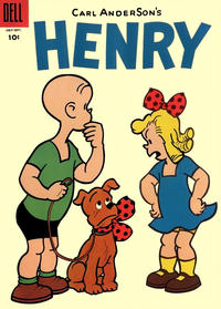Cover Thumbnail for Henry (Dell, 1948 series) #43