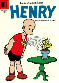 Cover Thumbnail for Henry (Dell, 1948 series) #49