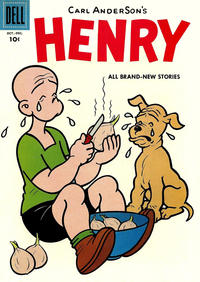 Cover Thumbnail for Henry (Dell, 1948 series) #52