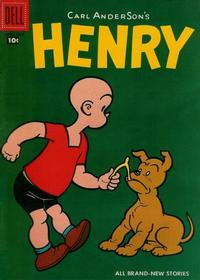 Cover Thumbnail for Henry (Dell, 1948 series) #54
