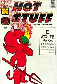 Cover Thumbnail for Hot Stuff, the Little Devil (Harvey, 1957 series) #87