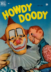 Cover Thumbnail for Howdy Doody (Dell, 1950 series) #3