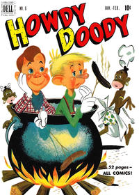 Cover Thumbnail for Howdy Doody (Dell, 1950 series) #6