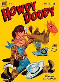 Cover Thumbnail for Howdy Doody (Dell, 1950 series) #7