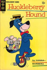 Cover Thumbnail for Huckleberry Hound (Western, 1962 series) #36
