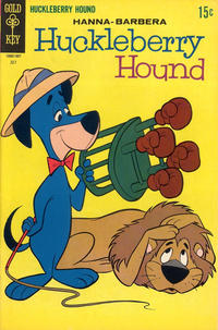 Cover Thumbnail for Huckleberry Hound (Western, 1962 series) #38