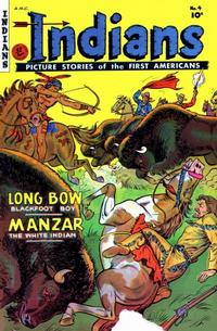 Cover Thumbnail for Indians (Fiction House, 1950 series) #4