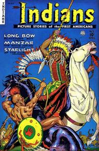 Cover for Indians (Fiction House, 1950 series) #5