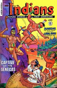 Cover Thumbnail for Indians (Fiction House, 1950 series) #6