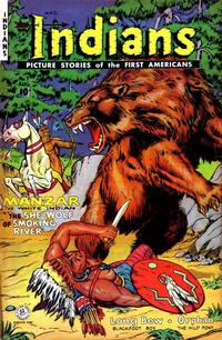 Cover Thumbnail for Indians (Fiction House, 1950 series) #7