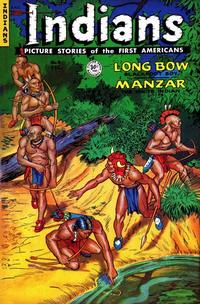 Cover for Indians (Fiction House, 1950 series) #9
