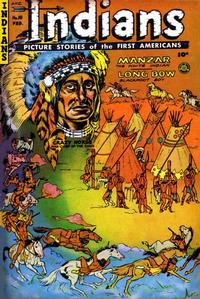 Cover Thumbnail for Indians (Fiction House, 1950 series) #10